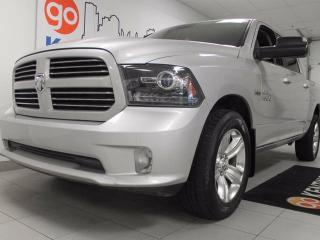 Used 2014 Dodge Ram 1500 Sport- NAV, heated power leather seats AND steering wheel, 5.7L HEMI for sale in Edmonton, AB