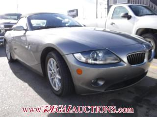 Used 2005 BMW Z4  2D ROADSTER 2.5 for sale in Calgary, AB