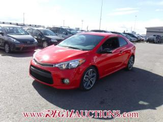 Used 2016 Kia FORTE SX 2D KOUP AT 1.6L for sale in Calgary, AB