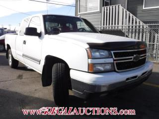 Used 2006 Chevrolet SILVERADO 1500 LT EXT CAB 4WD for sale in Calgary, AB