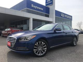 Used 2015 Hyundai Genesis 3.8 Premium Luxury!  This car is a must drive!  Na for sale in Barrie, ON