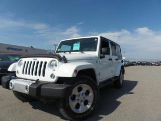 Used 2015 Jeep Wrangler Unlimited SAHARA 3.6L 6CYL for sale in Midland, ON