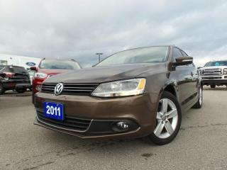 Used 2011 Volkswagen Jetta HIGHLINE 2.5L 5CYL for sale in Midland, ON