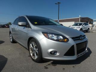 Used 2014 Ford Focus *CPO* TITANIUM 2.0L 4CYL 1.9% APR FREE WARRANTY for sale in Midland, ON