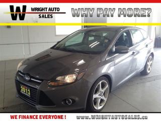 Used 2013 Ford Focus TITANIUM |NAVIGATION| LEATHER| 105,748 KMS| for sale in Cambridge, ON