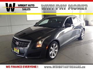 Used 2014 Cadillac ATS 4|TRACTION CONTROL|LEATHER|LOW MILEAGE|43,598 KMS for sale in Cambridge, ON