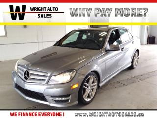 Used 2013 Mercedes-Benz C-Class 4MATIC|SUNROOF|LEATHER|67,781 KMS for sale in Cambridge, ON