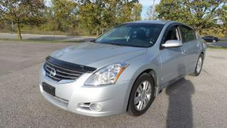 Used 2011 Nissan Altima 2.5 S Leather, Rearview Camera for sale in Stratford, ON