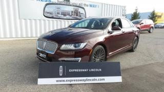 Used 2017 Lincoln MKZ Reserve Leather, Moonroof, Navi for sale in Stratford, ON