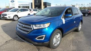 New 2018 Ford Edge SEL, 280hp, Lthr, Pano Roof, Nav for sale in Stratford, ON