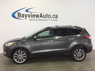 Used 2015 Ford Escape SE- ECOBOOST|4WD|PANOROOF|HTD STS|REV CAM|SYNC! for sale in Belleville, ON