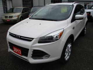 Used 2013 Ford Escape LOADED TITANIUM EDITION 5 PASSENGER 2.0L - ECO-BOOST.. 4WD.. LEATHER TRIM.. HEATED SEATS.. NAVIGATION.. REMOTE START.. PANORAMIC SUNROOF.. for sale in Bradford, ON
