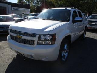 Used 2012 Chevrolet Avalanche LOADED LTZ MODEL 5 PASSENGER 5.3L - V8.. 4X4.. CREW.. SHORTY.. LEATHER.. HEATED/AC SEATS.. NAVIGATION.. BLUETOOTH for sale in Bradford, ON