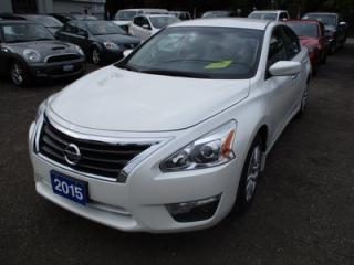 Used 2015 Nissan Altima POWER EQUIPPED S MODEL 5 PASSENGER 2.5L - DOHC.. CLOTH.. BACK-UP CAMERA.. BLUETOOTH.. REMOTE START.. for sale in Bradford, ON