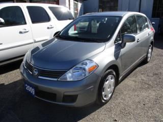 Used 2009 Nissan Versa POWER EQUIPPED HATCH MODEL 1.8L - 4 CYL.. CLOTH INTERIOR.. AM/FM/CD PLAYER.. KEYLESS ENTRY.. for sale in Bradford, ON