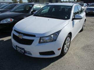 Used 2014 Chevrolet Cruze 'GREAT VALUE' POWER EQUIPPED 1-LT MODEL 5 PASSENGER 1.4L - TURBO.. CD/AUX/USB INPUT.. KEYLESS ENTRY.. for sale in Bradford, ON