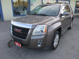 Used 2012 GMC Terrain LOADED SLT-1 MODEL 5 PASSENGER 2.4L - ECO-TEC.. LEATHER.. HEATED SEATS.. BACK-UP CAMERA.. BLUETOOTH.. CD/AUX/USB INPUT.. for sale in Bradford, ON