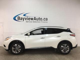 Used 2017 Nissan Murano SV - AWD! NAV! PANOROOF! LOADED! for sale in Belleville, ON