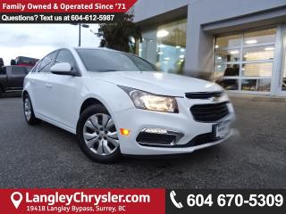 Used 2015 Chevrolet Cruze 1LT *LOCAL BC CAR* LOW KMS*DEALER INSPECTED* for sale in Surrey, BC
