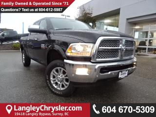 Used 2016 Dodge Ram 3500 Laramie *DEMO CLEAR OUT* ACCIDENT FREE* for sale in Surrey, BC
