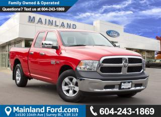 Used 2015 Dodge Ram 1500 ST LOCAL, ONE OWNER for sale in Surrey, BC