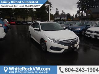 Used 2016 Honda Civic EX Power Moonroof, Cruise Control & Heated Front Seats for sale in Surrey, BC