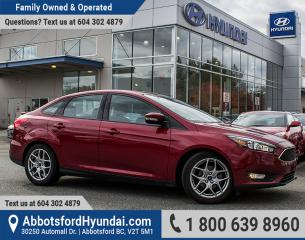 Used 2015 Ford Focus SE BC OWNED & GREAT CONDITION for sale in Abbotsford, BC
