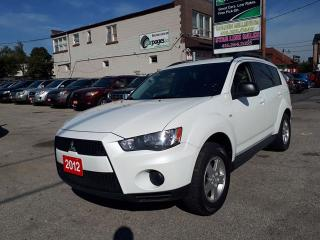 Used 2012 Mitsubishi Outlander ES for sale in Scarborough, ON