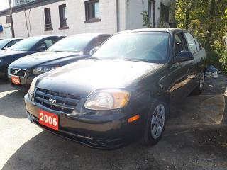 Used 2006 Hyundai Accent w/Comfort Pkg/Gas saver for sale in Scarborough, ON
