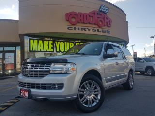 Used 2010 Lincoln Navigator ULTIMATE NAVI DVD POWER ROOF LOW KMS for sale in Scarborough, ON