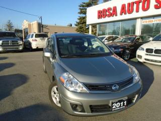 Used 2011 Nissan Versa 1.8 SL AUX IPOD NO ACCIDENTS LOCAL ON SAFETY E INC for sale in Oakville, ON