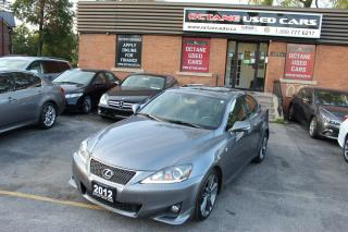 Used 2012 Lexus IS 250 F Sports for sale in Scarborough, ON