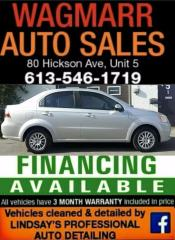 Used 2008 Chevrolet Aveo LS for sale in Kingston, ON