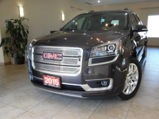 Used 2015 GMC Acadia Denali DVD PKG|NAVI|REARCAM|HEADS UP DISPLAY for sale in Toronto, ON
