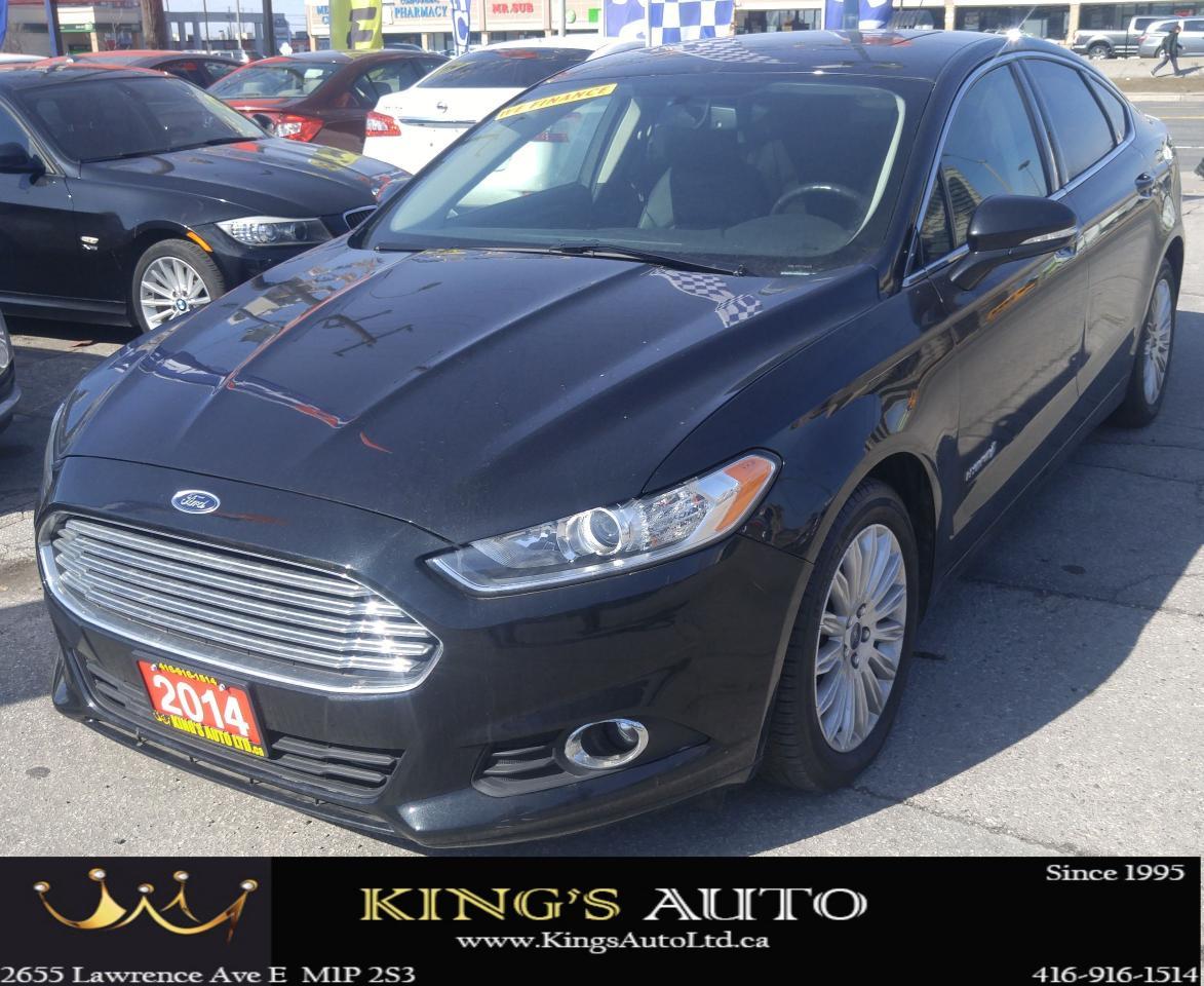 2014 Ford Fusion SE Hybrid, LEATHER, NAVI, SUNROOF