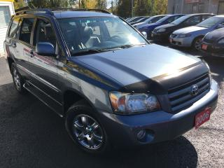 Used 2006 Toyota Highlander AUTO/4WD/LEATHER/LOADED/ALLOYS/DRIVES LIKE NEW for sale in Scarborough, ON