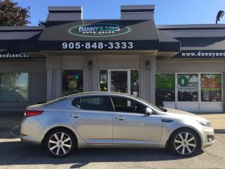 Used 2012 Kia Optima EX+ for sale in Mississauga, ON