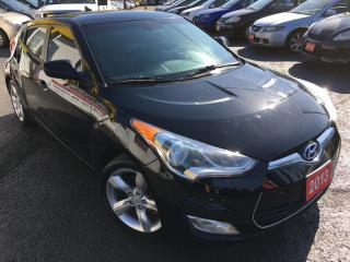 Used 2013 Hyundai Veloster w/Tech/5SPEED/ALLOYS/BACK-UP CAMERA/LOW MILEAGE for sale in Scarborough, ON