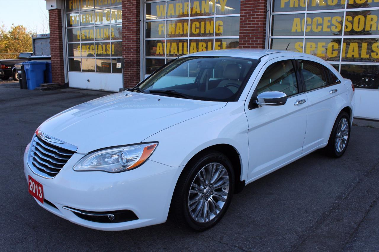 used 2013 chrysler 200 limited navi leather 2 set of tires for sale in oakville ontario. Black Bedroom Furniture Sets. Home Design Ideas