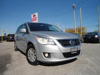Used 2009 Volkswagen Routan AUTO LOW KM  LEATHER SUNROOF STOW@GO POWER SLIDING for sale in Oakville, ON