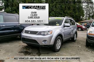 Used 2007 Mitsubishi Outlander LS V6, Low 62,000km's, Local, No Accid, New Style! for sale in Surrey, BC