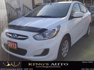 Used 2013 Hyundai Accent GLS, HEATED SEATS for sale in Scarborough, ON