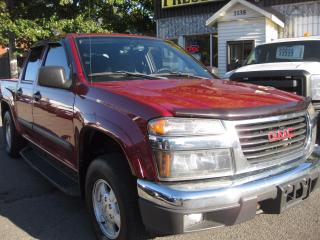 Used 2006 GMC Canyon SLE Z71 AC Crew Cab 4x4 PL PM PW for sale in Ottawa, ON