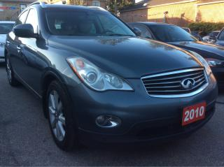 Used 2010 Infiniti EX35 w/Nav Radar Cruise 360 Camera Bluetooth LOADED for sale in Scarborough, ON