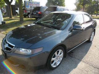 Used 2004 Acura TSX w/Navigation for sale in Ajax, ON