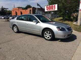 Used 2005 Nissan Altima 2.5,AUTO,159KM,SAFETY+3YEARS WARRANTY INCLUDED for sale in North York, ON