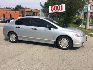 Used 2010 Honda Civic 4DOOR,SAFETY+3YEARS WARRANTY INCLUDED for sale in North York, ON