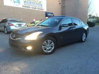 Used 2010 Nissan Altima 2.5 S - LEATHER - SUNROOF - BLUETOOTH for sale in Aurora, ON