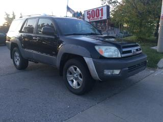 Used 2003 Toyota 4Runner SR5,AUTO,SHIPPERS SPECIAL,$5300,166KM, for sale in North York, ON