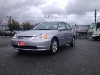 Used 2002 Honda Civic LX for sale in Langley, BC
